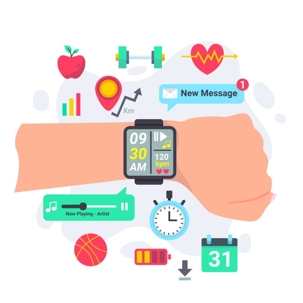 Smartwatch Funktionen Infogram